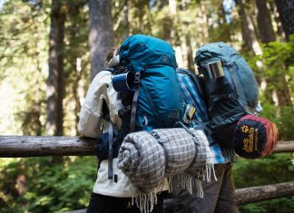 Staying clean while backpacking