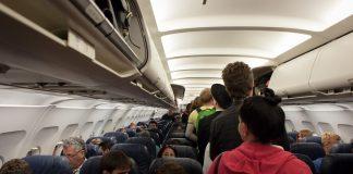 Avoiding the flu on a plane