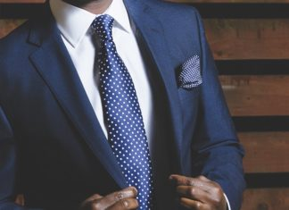 Well-fitted suit